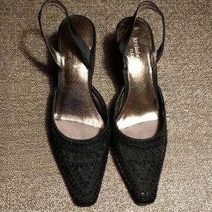 Liz Claiborne Flex Sequined Heals